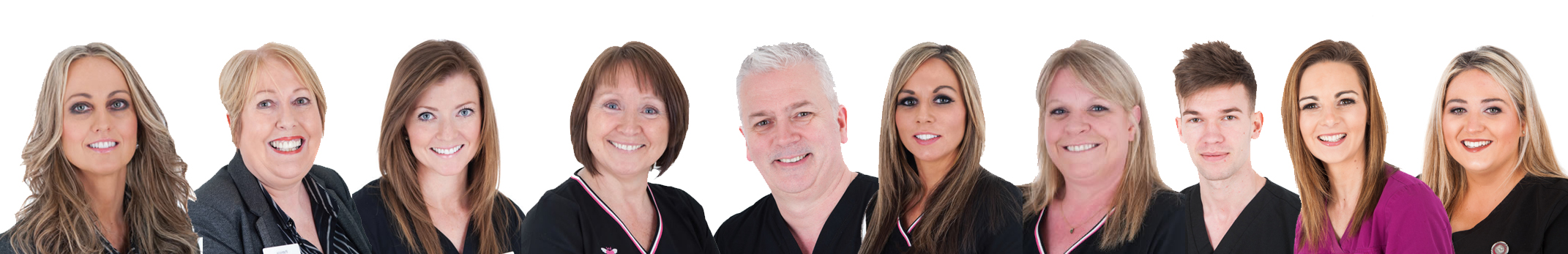 meet the team at 15 dental